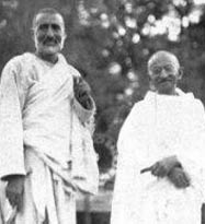 Gandhi and Khan