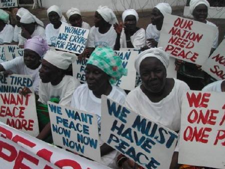 Liberian Women Seek Peace 3