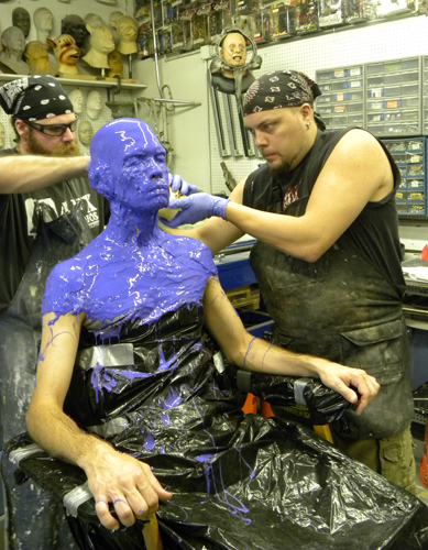 Life  Body Casting at AFX Studios