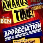 Appreciation Night & Champions Gathering di Ikhlas Point, Bangsar.