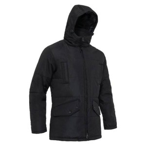 Black Winter Bubble Jacket AFYM-7004