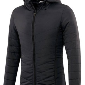 Black Bubble Jacket with Hood AFYM-7008