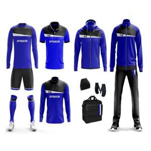 Blue with 2 Panels Full Team Wear AFYM-9000