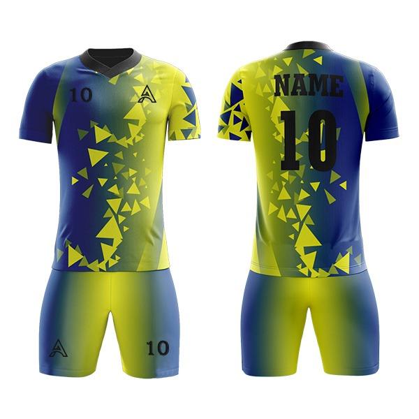 Custom Art Sublimation Soccer Kits AFYM:2002