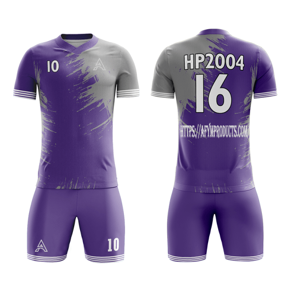 Customize Coloring Sublimation Soccer Kits AFYM:2004