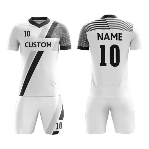 Customize Sublimation Soccer Kits with Front Trimming AFYM:2034