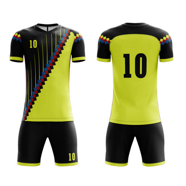 Sublimation Soccer Kits with Unique Art AFYM:2047