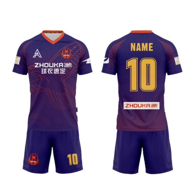 Unique Designs of Sublimation Soccer Kits AFYM-2064