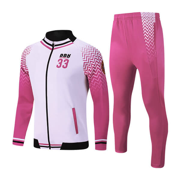 Custom Sublimation Tracksuits with Side Trimming AFYM:1031