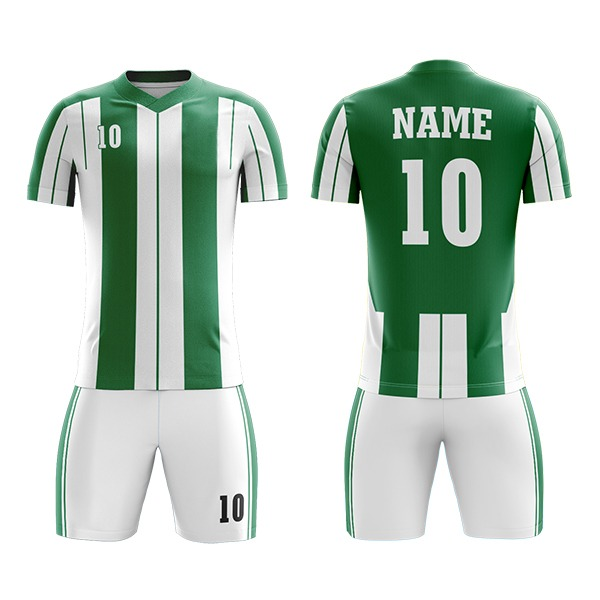 Custom with Front and Back Hoops Sublimation Soccer Kit AFYM:2071