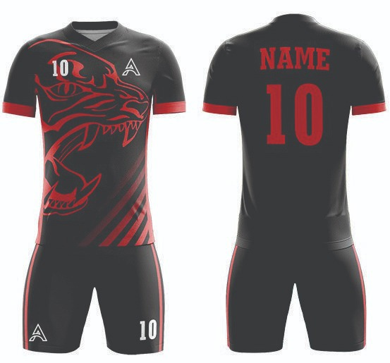Customize Tiger Design Sublimation Soccer Kits AFYM:2079