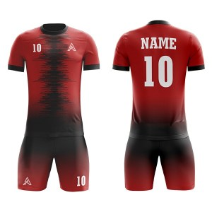 Sublimation Soccer Kits with Custom Lining AFYM:2087