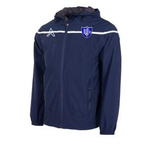 Varssity Dark Blue Rain Jacket with Center Lining AFYM-6013