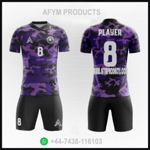 Camo Customize Sublimation Soccer Kits AFYM:2099