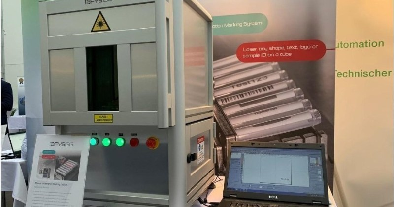 Manual labware information marking system