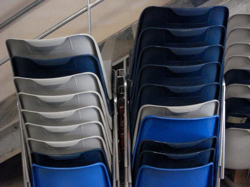 lot de 10 chaises coque pvc chaise d