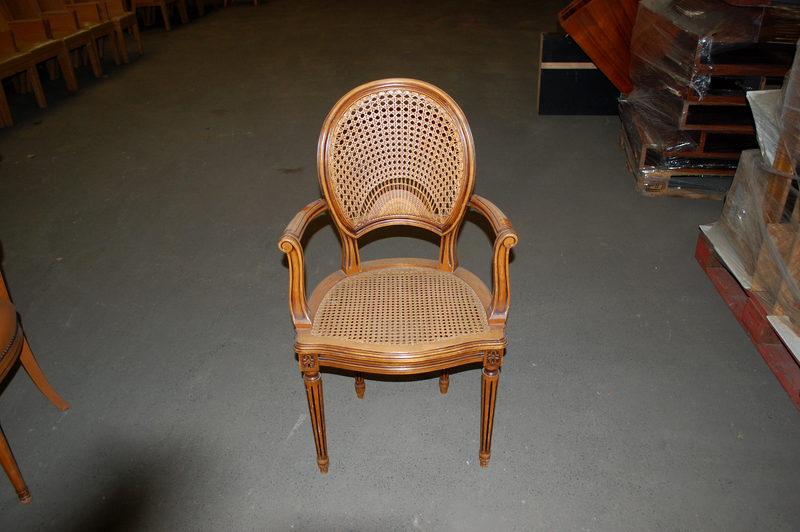 fauteuil canne style louis xvi autres