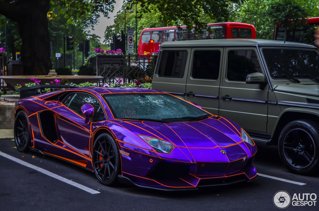 Lamborghini Aventador LP700 4 LB Performance Nasser