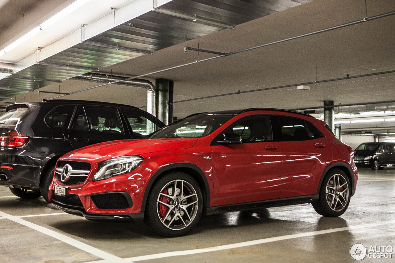 Gumball Cars Wallpapers Mercedes Benz Gla 45 Amg X156 25 October 2014 Autogespot