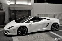 Black Lamborghini Gallardo Lp560 4 Spyder Year Of Clean Water