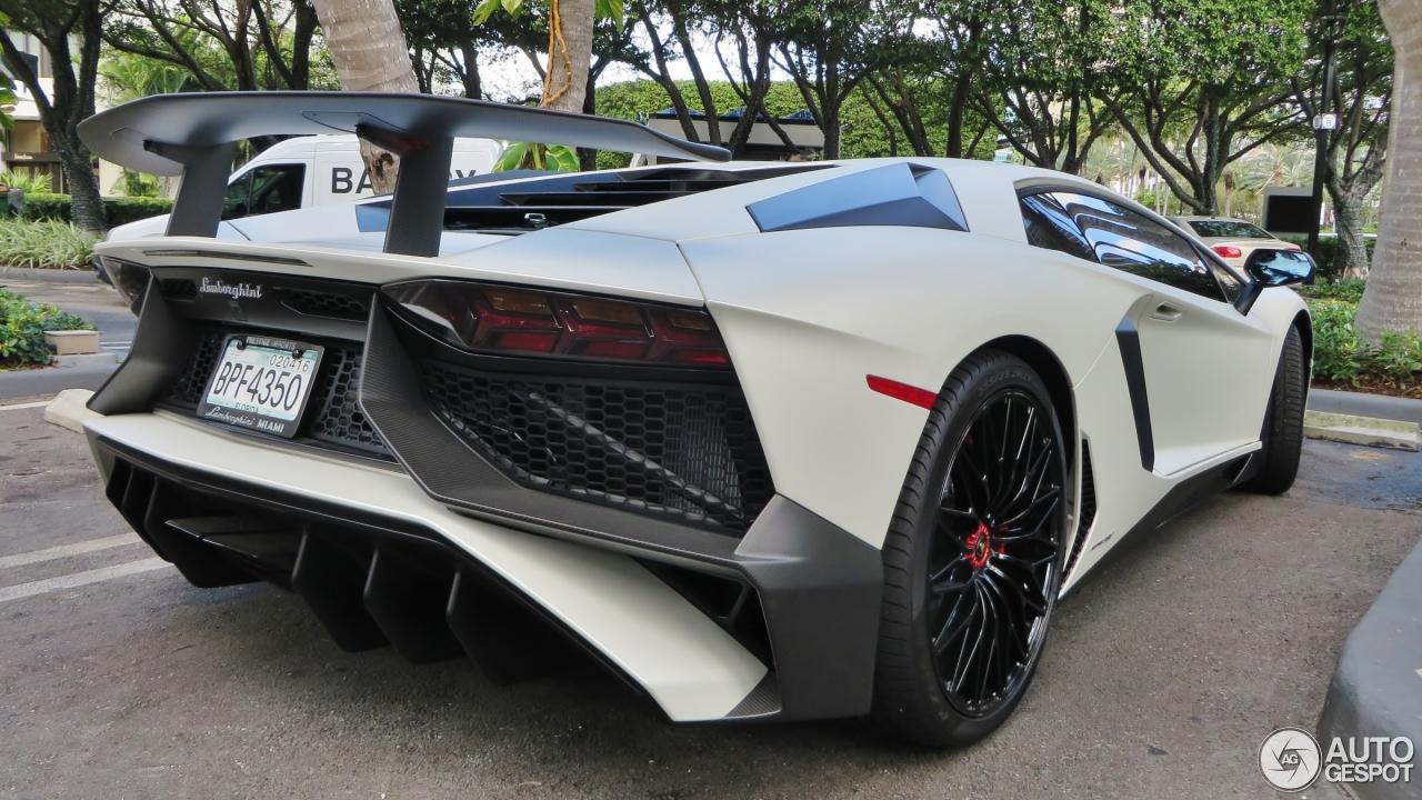 Lamborghini Aventador LP750 4 SuperVeloce 29 January