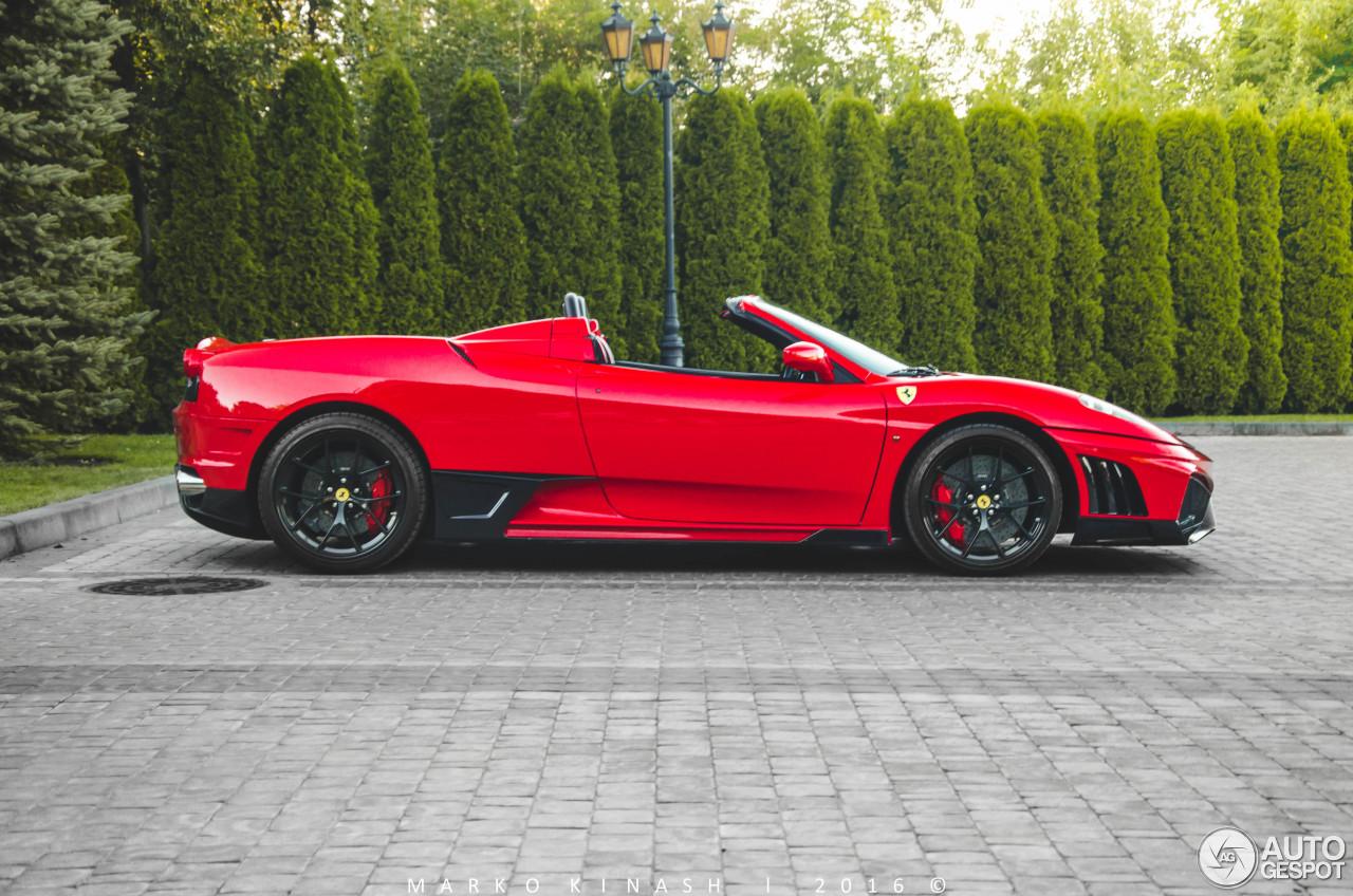 Ferrari F430 Spider Super Veloce Racing  28 augustus 2016