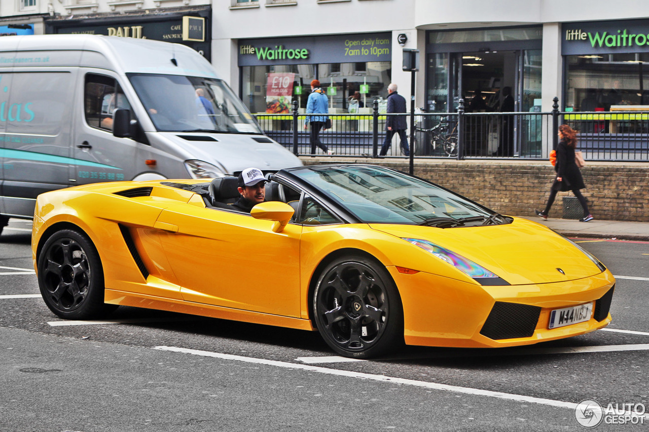 Lamborghini Gallardo Spyder  21 May 2017  Autogespot
