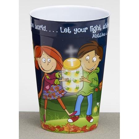 Christian Fall plastic kids' cup