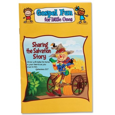 Salvation Story Activity Book