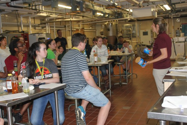 Food Science Supports 4h Summer Of Umass Center