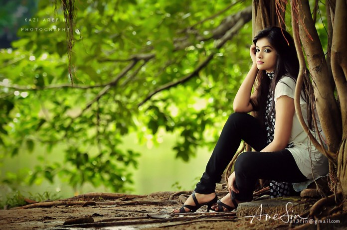 Bangladeshi Model & Actress Sharlina Hossain 1
