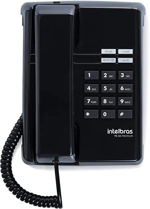 TELEFONE TC 50 PREMIUM PT COM LED