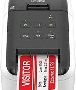 Impressora Brother Termica de Etiquetas - Ql810w