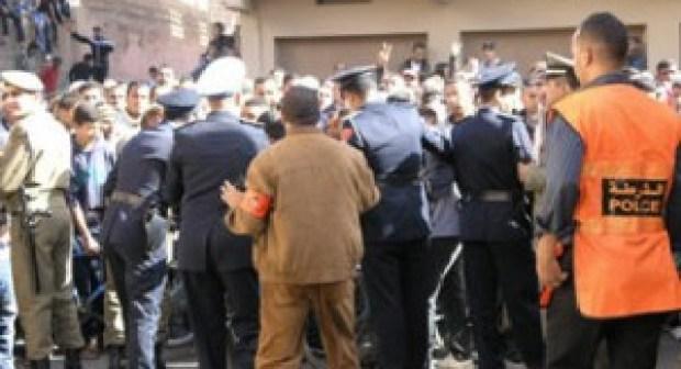 العثور على أربعة طلاب أفارقة جثة هامدة وتحويل جثثهم إلى مستشفى الحسن الثاني