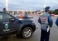عااجل:جمارك اكادير تحجز ما يزيد عن 550 كلغ من ملابس البال  على متن حافلة للركاب بمدخل مدينة أكادير