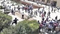 اعتقالات في صفوف طلبة كلية الآداب بعد مواجهات مع الأمن صباح اليوم الاثنين
