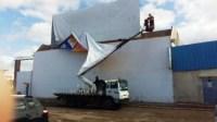 بلدية أكادير تقود حملة ضذ عشوائية استغلال الملك العمومي بالإشهار.