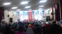 محاضرة قيمة وحصور متميز للمرأة في اليوم الاول من المهرجان القرآني لاشتوكة ايت باها