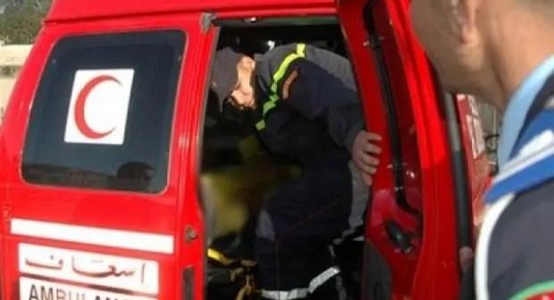 حالة استنفار بعد حادث مميث راح ضحيته 3 أشخاص و إصابة آخرين.