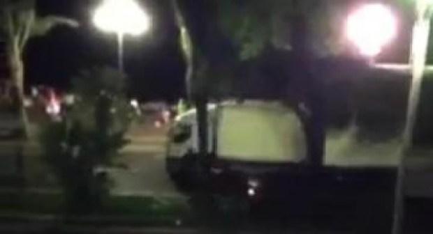 فرنسا : شاهدوا الطريقة التي نفذ بها سائق شاحنة هجوم نيس وقتل أزيد من 80 ضحية