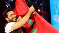 """+صور:""""ربع مليون"""" تابعوا """"تامر حسني """" في سهرة اختتام ليالي مهرجان تيميتار"""