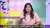 بالفيديو..مذيعة مصرية تهدد زوجها على الهواء