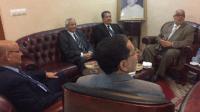 بالصور:بنكيران يستقبل الاستقلالي شباط مرفوقا بحمدي ولد الرشيد والسوسي لبحث سبل تشكيل الحكومة