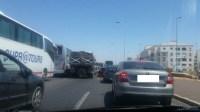 عااجل:حادثة سير خطيرة بقلب أكادير تخلف إصابات بليغة وتتسبب في عرقلة حركة السير