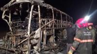 معطيات صادمة حول الشاحنة التي تسببت في محرقة حافلة أكادير