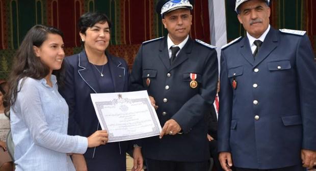 أكادير:توشيح العميد الإقليمي حسن الغفاري بوسام  الاستحقاق الوطني من الدرجة الممتازة