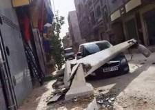 """""""مشرملون"""" يسطون على سيارة مواطن بأكادير، ويرتكبون بها حادثة خطيرة"""