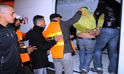 """أكادير : """"بيبوط"""" أخطر المجرمين الذي حول حياة المواطنين إلى جحيم بالسرقة و الاغتصاب و التهديد، يقع في قبضة الشرطة"""