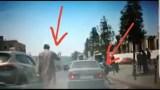 خطير:شاهد جوج شفارة كايشفرو بطريقة ذكية في المدارات الطرقية