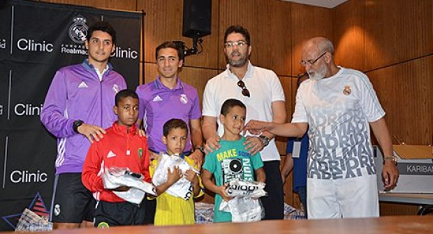 اختتام فعاليات الدورة التدريبية التي أشرفت عليها مؤسسة ريال مدريد